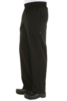 Picture of Chef Works - NBBP - Black Basic Baggy Pants