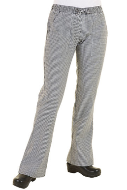 Picture of Chef Works - WBAW - Women's Small Check Chef Pants