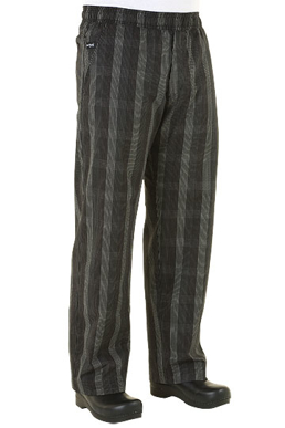Picture of Chef Works - BPLD-BLK - Black Plaid Better Built Baggy