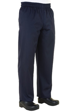 Picture of Chef Works - NABP - Navy Basic Baggy Pants