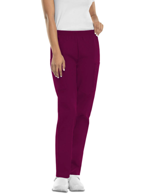 Picture of CHEROKEE-CH-4200P-Cherokee Workwear Women Four Pocket Petite Pants