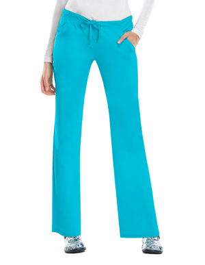 Picture of CHEROKEE- CH-1066-Cherokee Luxe Womens Four Pocket Drawstring Pants