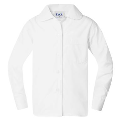 Picture of LW Reid-G386PL-Benham Peter Pan-Collar Long Sleeve School Blouse