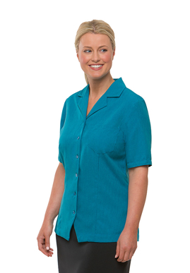 Picture of City Collection-2149-Ezylin® Short Sleeve Overblouse